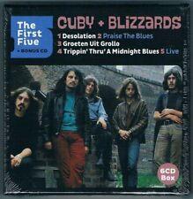 Cuby + Blizzards - The First Five + Bonus CD, 6er CD Box Neuware mit 61 Titel