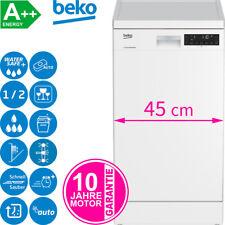 Beko Stand Geschirrspüler Unterbaufähig Geschirr Spülmaschine 45 cm Auto-Tab A++