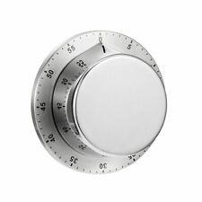Edelstahl Magnetisch Kurzzeitmesser Küchenuhr Küchentimer Mechanisch Wecker