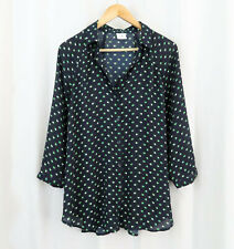 New Cabi Womens Martini 5019 Button Shirt Blouse Sz S Small