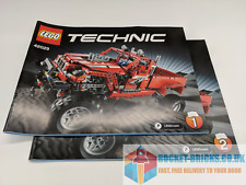 ⭐️LEGO TECHNIC 42029 CUSTOMISED PICK UP TRUCK - 2 x MANUALS ONLY - NEW⭐️