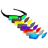 Hawkry Polarized Replacement Lenses for-Oakley Flak Jacket XLJ Sunglass -Options