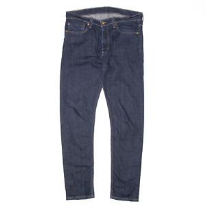 LEVI'S 510 Blue Denim Slim Skinny Jeans Mens W34 L32