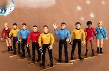 "Playmates Star Trek ""Original Crew Members"" Set of 9 - 4.5"" Action Figures"