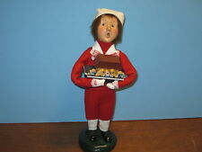 Byers Choice Retired 1998 Boy with Noah's Ark in Red Salor's Outfit