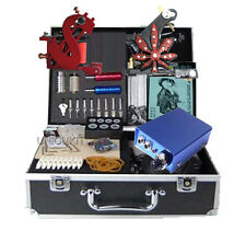 New Complete Tattooing Equipment power Needles Tattoo Machine Kits for sale