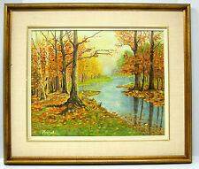 LARGE OIL-Canadian Fall-L.Percival-verso: October 1961