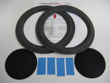 "Bose 501 series IV 10"" Woofer Refoam Kit - Speaker Repair w/ Shims & Dust Caps!"
