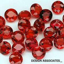 RUBY 8.50 MM ROUND CUT NATURAL GEMSTONE  AAA