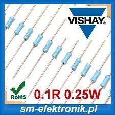 0.1R 0.25W 2% 1/4W Resistor VISHAY MPR24000B1007GC100 MPR24 [QTY=100pcs]