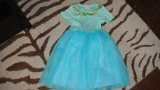 BOUTIQUE BABY LULU 6 BLUE TULLE DRESS W/ BOWS TWINS