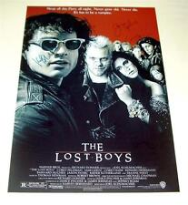 THE LOST BOYS x6PP SIGNED POSTER 12X8 KIEFER SUTHERLAND
