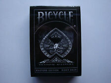 SVENGALI SHADOW MASTERS BLACK BICYCLE DECK PLAYING CARDS ELLUSIONIST MAGIC TRICK