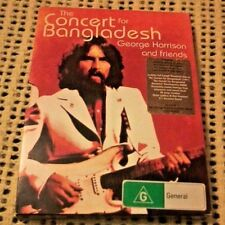 GEORGE HARRISON AND FRIENDS THE CONCERT FOR BANGLADESH DVD 2 DISCS REGION 4