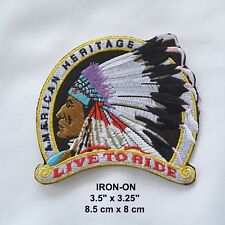 Tribal Feather Symbol Embroidered Iron-on Emblem Badge Patch Applique