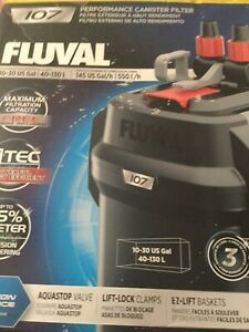 Fluval 107 Performance Canister Filter - #D5