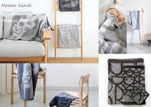 "Towels Masaru Suzuki ""OTTAIPNU"" Animal Collection Hand, Face, Bath Made in Japan"