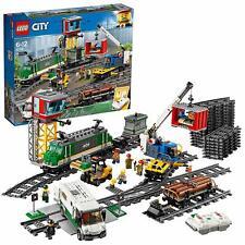 LEGO City Tren De Mercancías Control Remoto Bluetooth de 10 Velocidades 1226 Pz