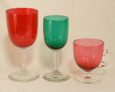 Art Glassware Victorian Glass Drinkware/Stemware