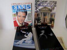 2 Elvis Presley 5 CD Box Sets Plus 50th Birthday Magazine & Graceland Guidebook