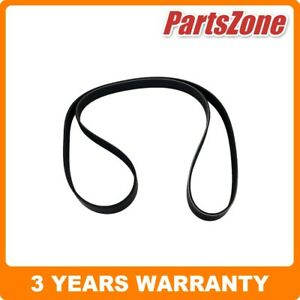 Serpentine Ribbed Belt Fan Belt Fit for Honda Accord Euro 2.4 CL9 2.4 CU 7PK1750