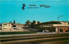 Tuscon Arizona~Travelodge on North Stone~1968 Postcard