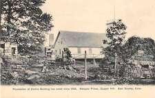 East Granby Connecticut Copper Hill Newgate Prison Antique Postcard J52244