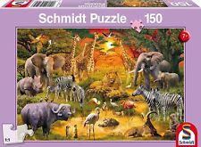 Animaux en Afrique: Children's Schmidt Jigsaw Puzzle 150 pieces 56195 7+ Ans
