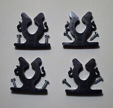 SET OF 4 KAYAK CANOE PADDLE FISHING ROD HOLDERS GUN BARREL HORIZONTAL VERTICAL