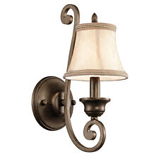 43284TRZ Mithras 1LT Wall Sconce Light Bedroom Bedside lighting,Terrene Bronze