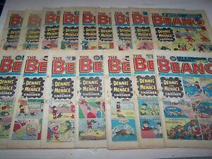 16 Beano Comics 1984 ~5,12,19,26/5,2,9,16,23/6,7,14,21,28/7,4,11,18/8,1/9 (137)