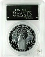 🇨🇰2017 $5 Cook Isles Fantastic Beasts 1 oz. .Silver Proof PCGS PR70DCAM FS🇨🇰