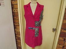 BNWT Gitane On Style Linen Blend Sleeveless Mini Dress sz 10 RRP $160