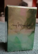 MY MANIFESTO BY ISABELLA ROSSELLINI  -COTY- 50ML EDP NEW and BOXED