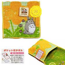 Studio Ghibli Pocket Towel Porta Oggetti Spugna Porta Trucchi Arancio Nibariki