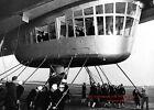 1936 Hindenburg Blimp Landing PHOTO Lakehurst Airship Zeppelin First USA Flight