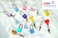 BTS BT21 Official character Padlock silicone locker key KPOP Goods Authentic MD