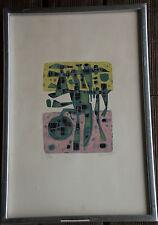 Alfred MANESSIER - Lithographie lithograph signée numérotée petit tirage /30 **
