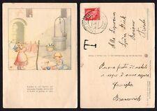 STORIA POSTALE Terre Redente 1942 Cartolina da S.Croce Aidussina a Roiano (FSE)