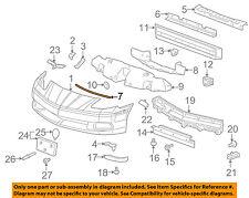 Chevrolet GM OEM 05-13 Corvette Front Bumper-Upper Seal 15881433
