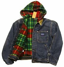 Polo Ralph Lauren Hi Tech Denim Trucker Jacket M Hooded Flannel Fleece NWT $328