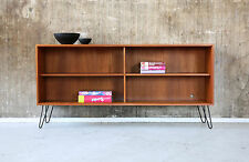 60er TEAK Pensile Scaffale Vintage 60s Shelf Cabinet Mid-Century credenza