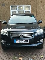 Toyota RAV4 XT-R D-4D 62 reg 2012 manual only 71135 miles with Toyota history