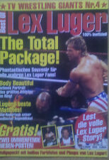 Lex Luger Best of TV Wrestling Giants Nr. 4 WWE WWF WCW Zeitung