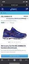 ASICS Gel Nimbus 19 - woman's running shoe US 9.5