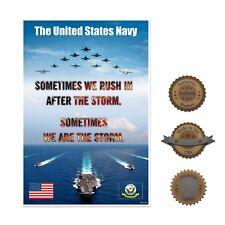 "13""×19"" Historic Poster, Reproduction: Military U.S. Navy Desert Storm War"