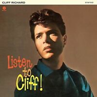 Richard- Cliff	Listen To Cliff! + 2 Bonus Tracks (New Vinyl)