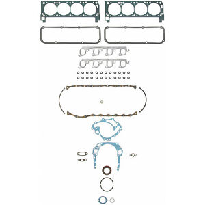 FEL-PRO 260-1014 Engine Kit Full Gasket Set Ford 351C 351M 400
