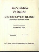 """Siegfried Ochs - """" S kommt ein Vogel geflogen """" humoristisch bearbeitet"""