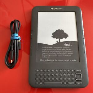 Amazon Kindle Keyboard D00901 (3rd Generation) 4GB, Wi-Fi + 3G, 6in display